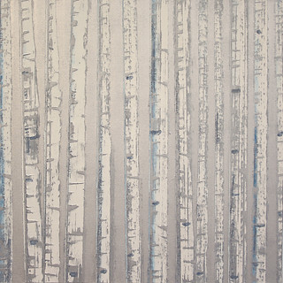 """Winter Aspens No. 4"" by David Castle"