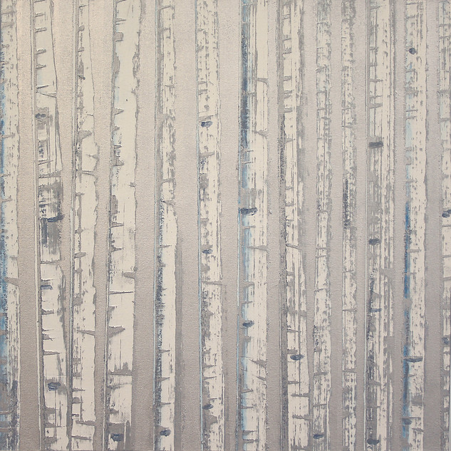"""Winter Aspens No. 4"" by David Castle"