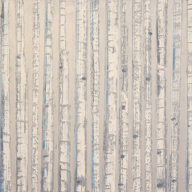 """Winter Aspens No. 5"" by David Castle"