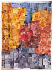 """Five Autumn Trees"" by David Castle"