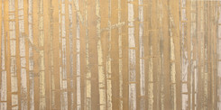 """Golden Aspens"" by David Castle"