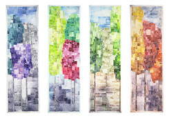 """""""Four Seasons of Trees"""" by David Castle"""