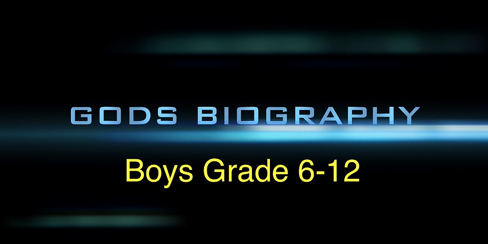 Youth Boys Bible study
