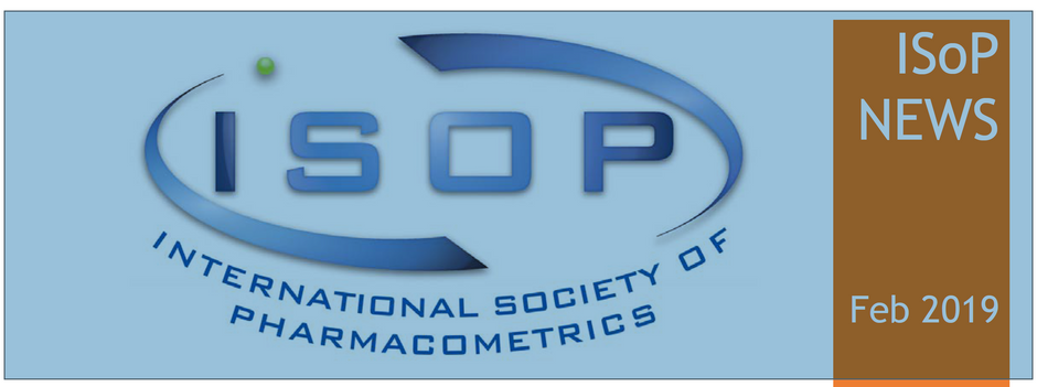 Read our interview by Peter Bonate for the ISoP Newsletter Feb 2019
