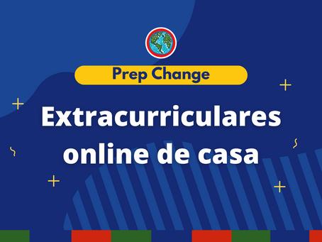 Extracurriculares online de casa