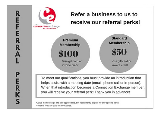 The Connection Exchange Referral Perks.p