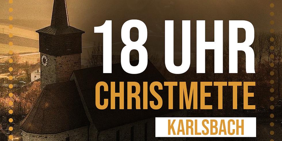 Christmette Karlsbach