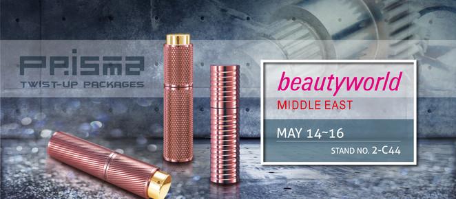 beautyworld DUBAI 2017 Booth No. 2-C44