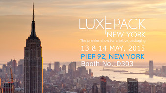 LUXEPACK NEW YORK / Booth No. : D302