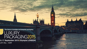 LUXURY PACKAGING LONDON 2015 / Booth No. : K39