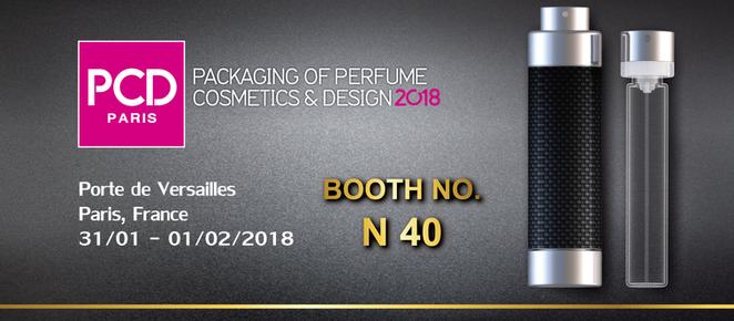 PCD PARIS 2018 /  Booth No. N40