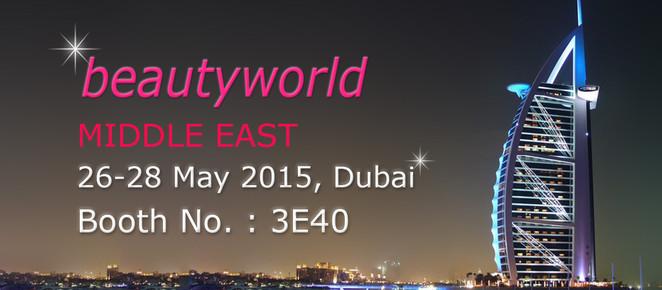 BEAUTYWORLD MIDDLE EAST Dubai / Booth No. : 3E40