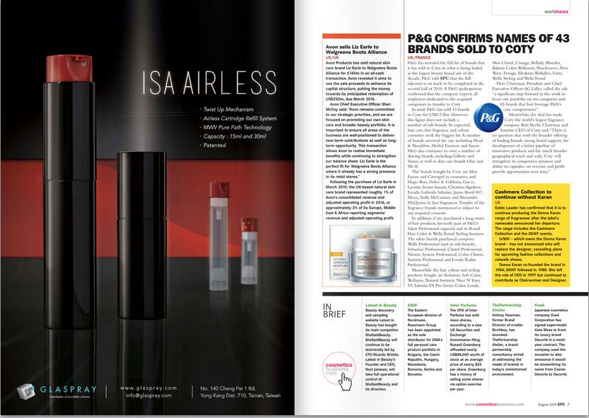 ISA Airless : SPC Magazine Aug. 2015 Vol 88 No. 8