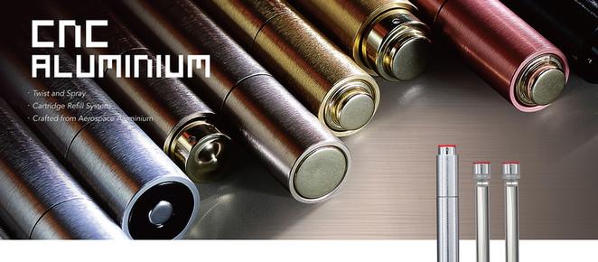 New Product Launch : CNC Aerospace Aluminium Twist and Spray
