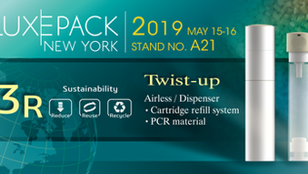 LUXEPACK NEW YORK 2019 STAND   NO. A21