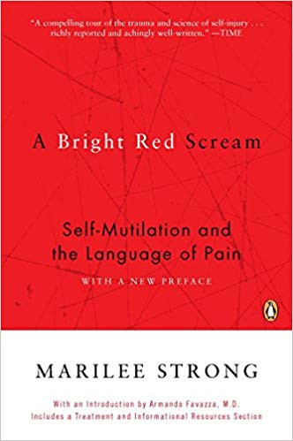 Book cover of, A Bright Red Scream