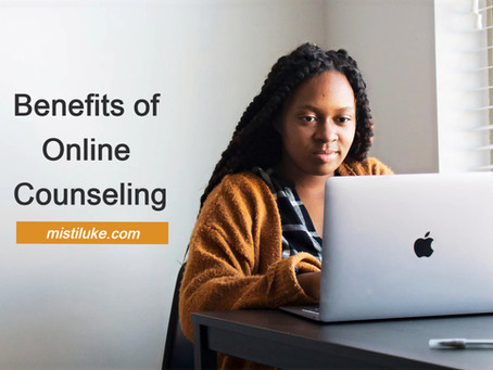 benefits of online counseling