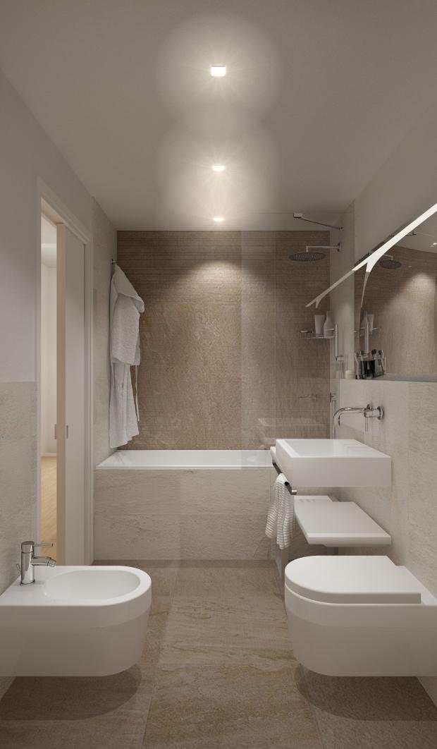 rendering bagno