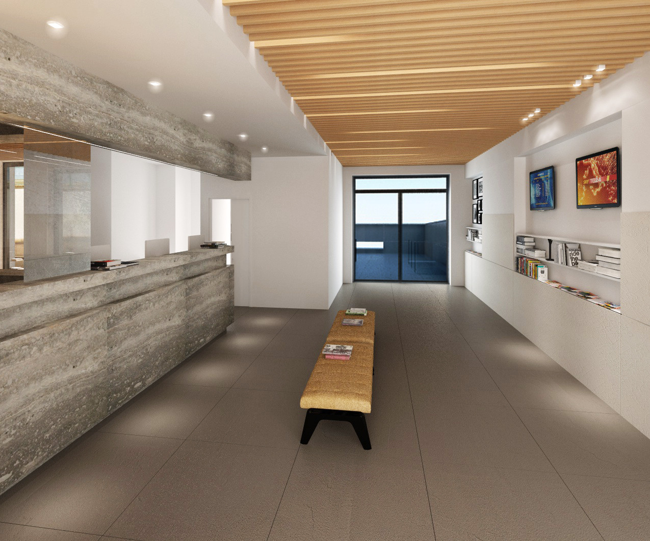 rendering hall