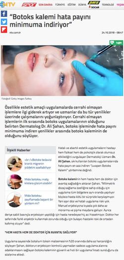 NTV Turkish TV