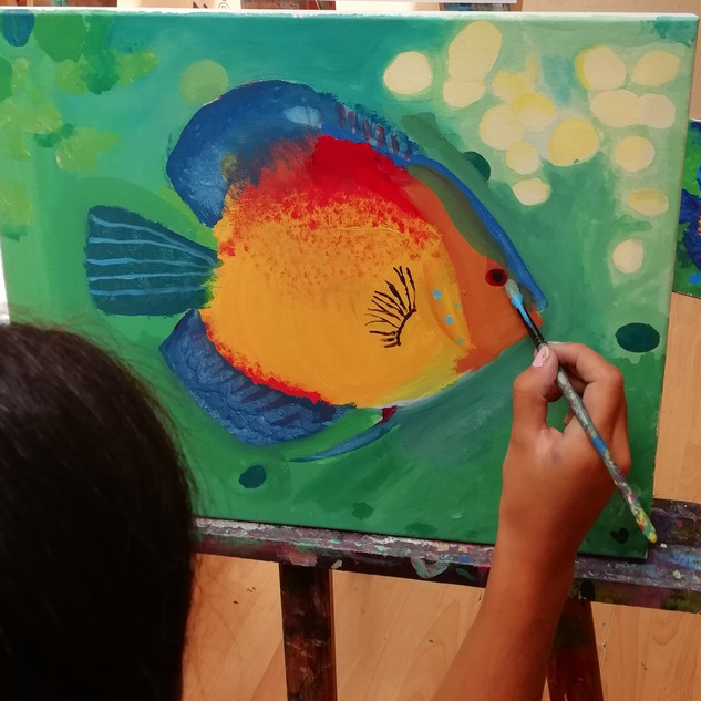 MATINS: Taller dibuix i pintura