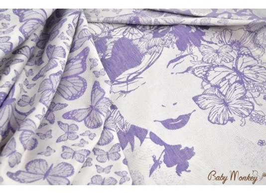 Fular tejido BabyMonkey Mariposas