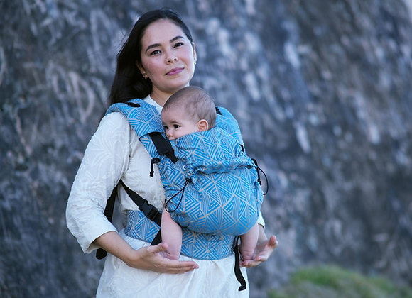 "Mochila marca Neko Slings tamaño BABY diseño ""Shiraz"""