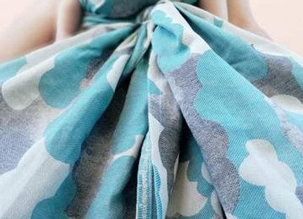 Fular tejido marca Lovaloom diseño SERENDIPITY MY LITTLE PRINCE