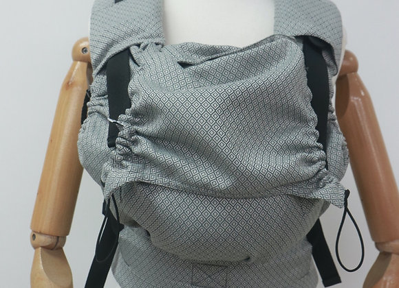"MOCHILA NEKO BABY ""GREY DIAMOND """