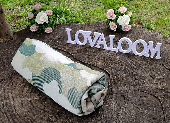 Fular tejido marca Lovaloom diseño SERENDIPITY NUBIVAGANT