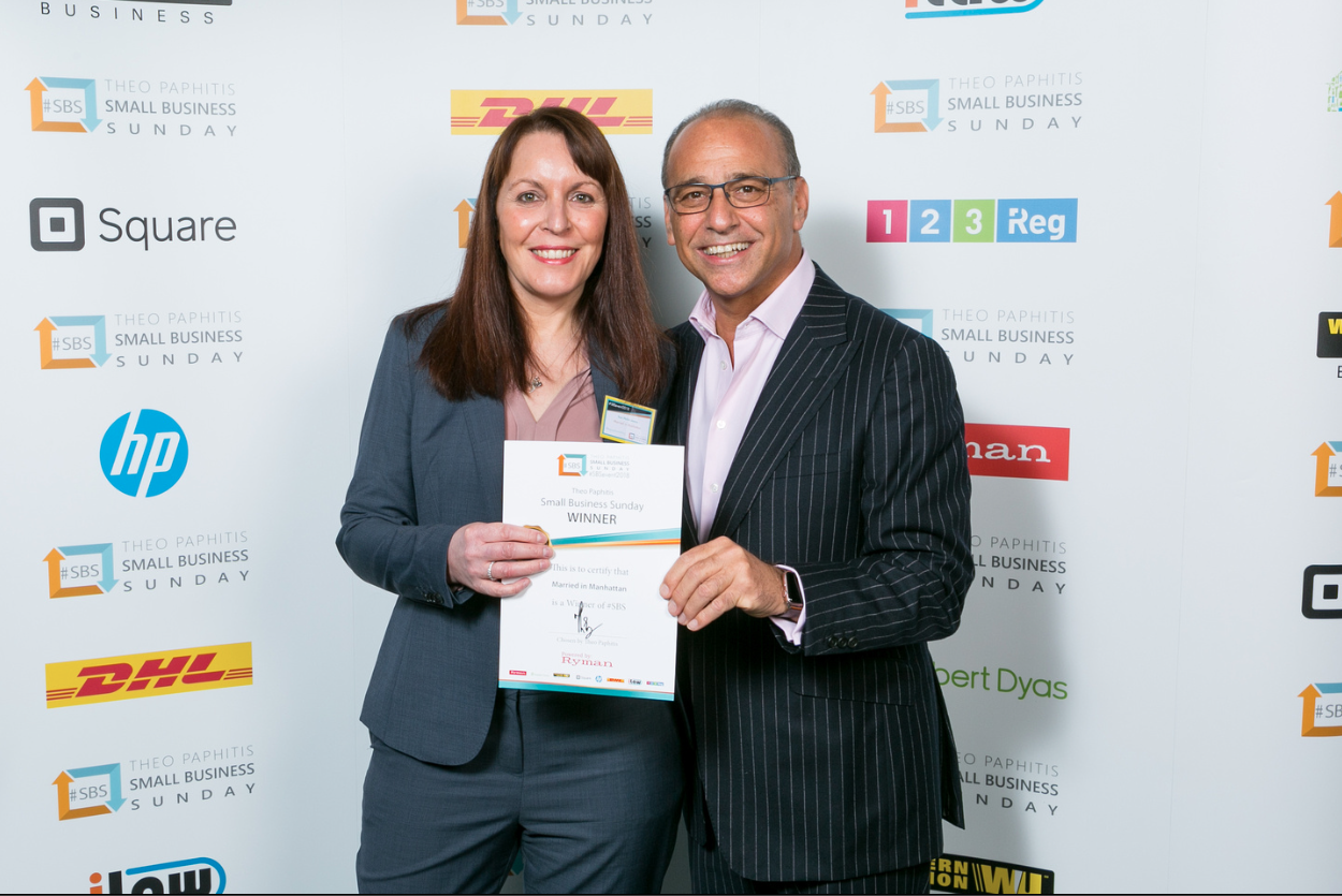 Theo Paphitis SBS Award 2018