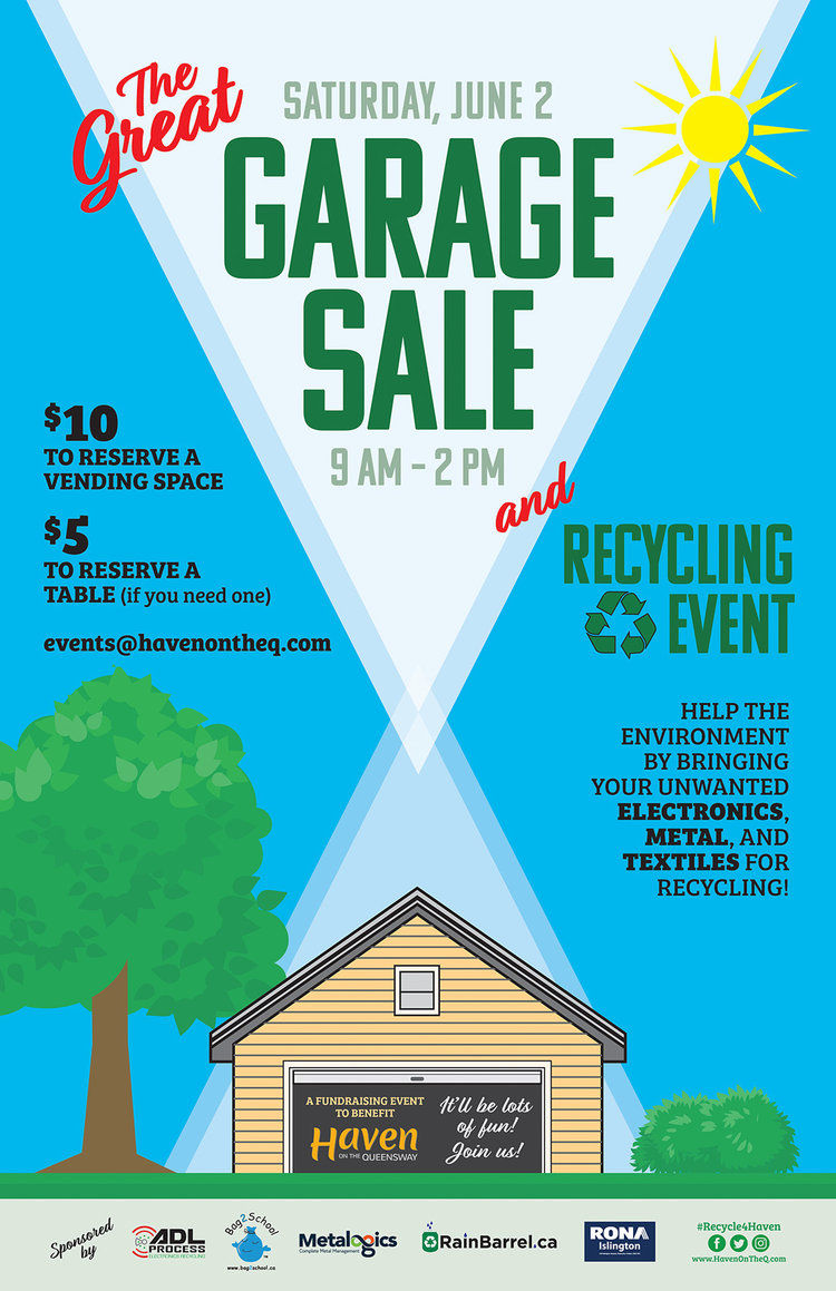 GREAT GARAGE SALE AND RECYCLING EVENT