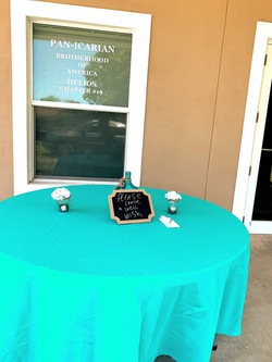 Receive Guests On Our Outside Patio