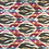 Thumbnail: Valdese - Multicolor Ikat Damask