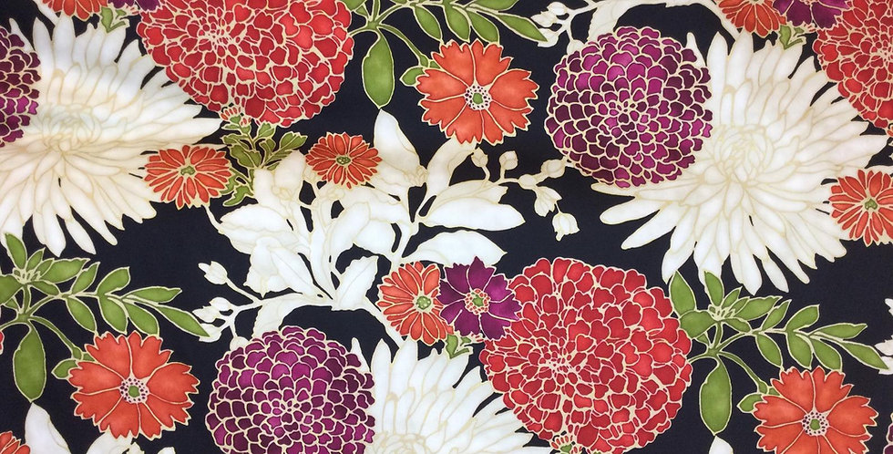 Richloom - St. Moritz Red - Drapery Fabric - Floral Draperies - Floral Pillow co
