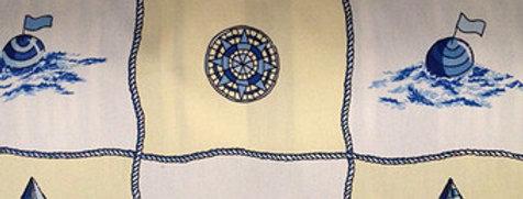 Nautical Ships Fabric