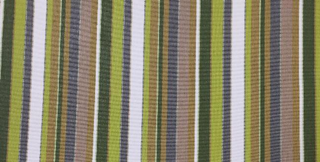 Sunbrella Stripe - Carousel Limelite