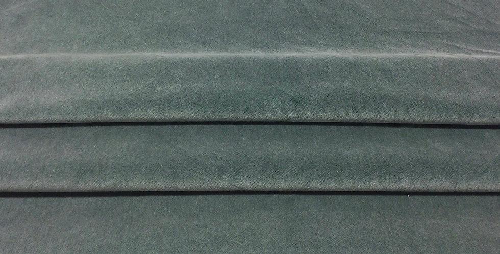 Sea Foam Green Velvet - Velvet Finish - Soft Texture Fabric - Light Green Solid