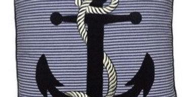 Nautical Anchor Pillow