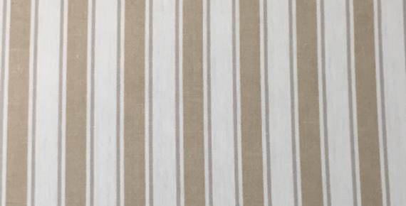 Natural Stripe - Off White - Natural
