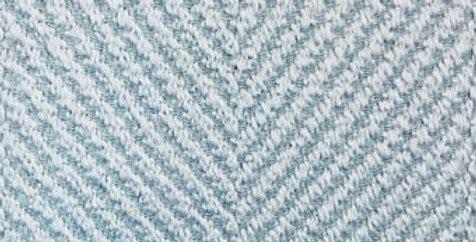 Powder Blue Herringbone