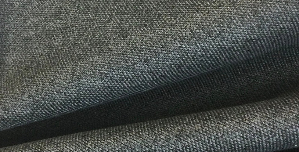 Carnegie Mineral Black - Fabric by the Yard - Open Weave Pillows