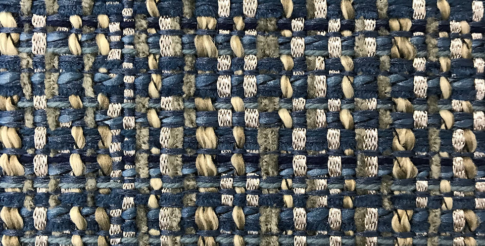 Jackie-O Navy Mingle Fabric