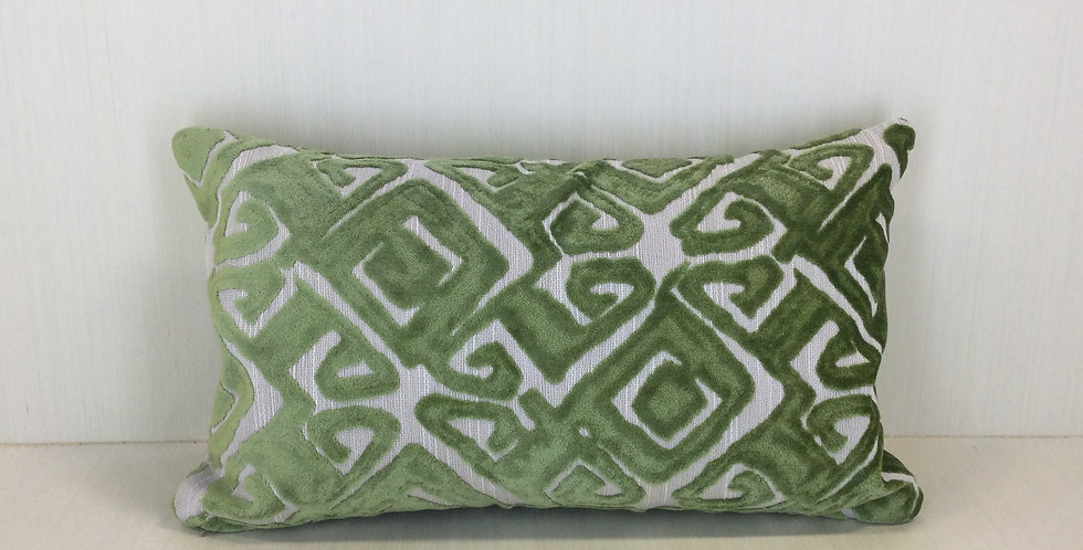 Green Cut Velvet - Nola - Green - velvet