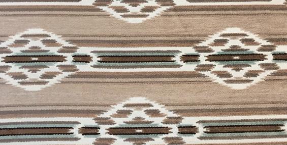 Soft Brown - Mint Green - Aztec