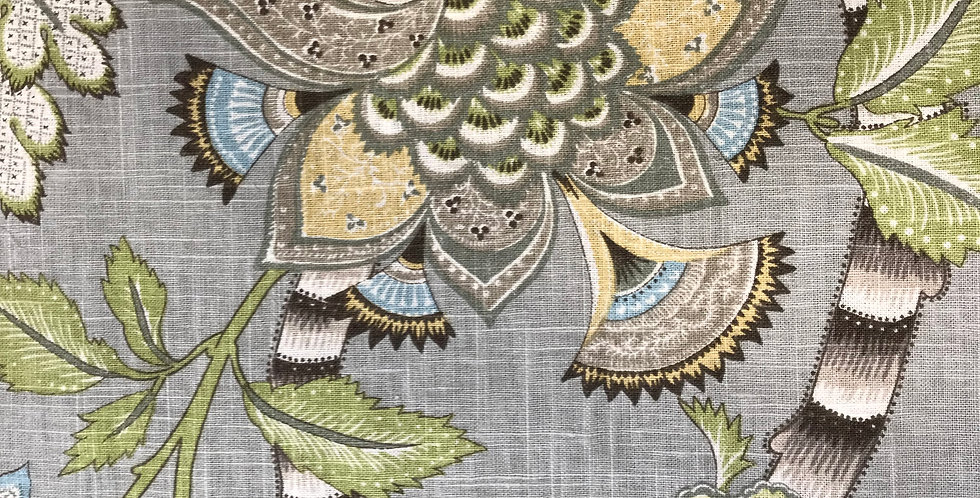 Aqua Jacobean - Clarice Dove