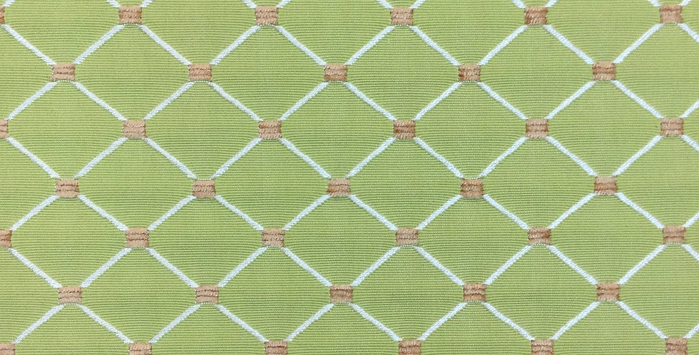 Green Diamond Dot Fabric