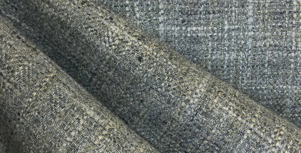 Gray Blend Woven - Solid Gray Upholstery Fabric - Textured Fabric -