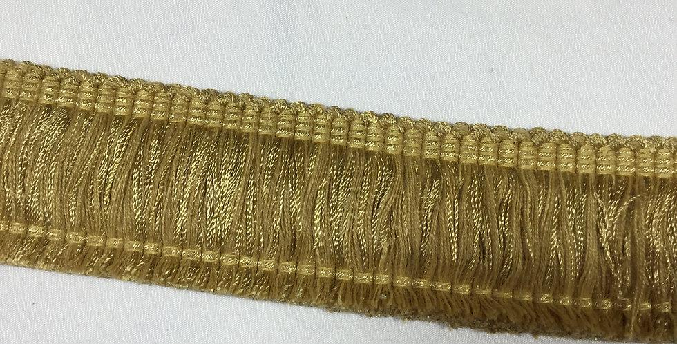 Old Gold Brush Fringe
