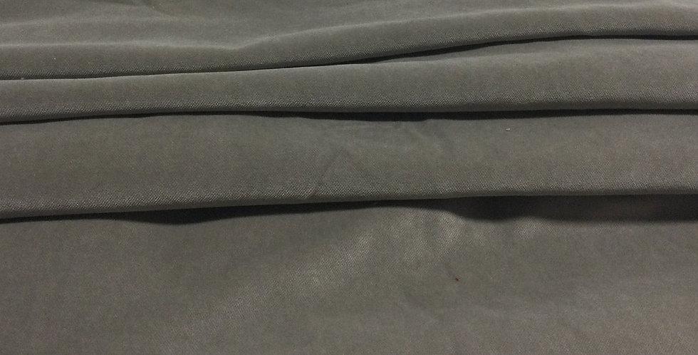 Smokey Grey Velvet - Neutral Gray Fabric - Gray Velvet - Neutral Gray Pillows